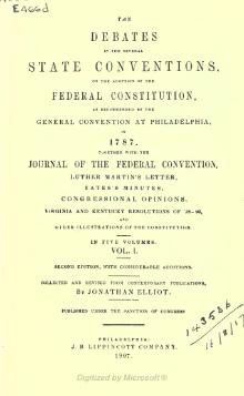 Debates in the Several State Conventions, v1.djvu