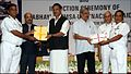 Defence Minister Manohar Parrikar awards Skill Certificates to Retiring Naval Sailors (1).jpg