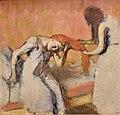 Degas, La Coiffure, ca. 1893, National Gallery, Oslo (2) (36329121671) (cropped).jpg