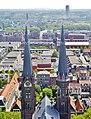 Delft Blick von der Nieuwe Kerk auf die Maria-van-Jessekerk13.jpg