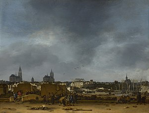 John Henderson (collector) - Egbert van der Poel, A View of Delft after the Explosion of 1654, left by Henderson to the National Gallery in London.