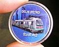 Delhi Metro token (44477075641).jpg