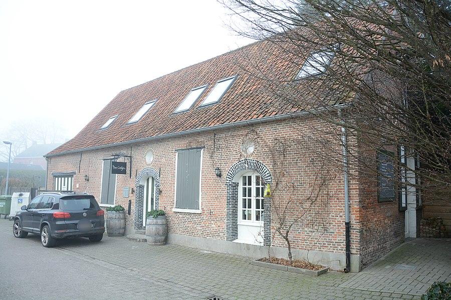 Den Bonten Hannen, dubbelhuis, Mgr. Cardijnstraat 34, Kasterlee