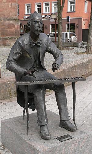 Adolf von Henselt - Statue of Henselt in his hometown of Schwabach