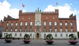 Carl Lendorf - Odense City Hall
