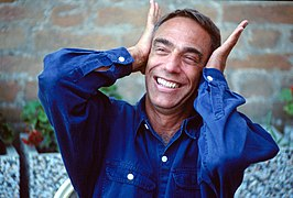 Derek Jarman in 1991 in Venetië