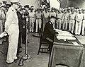 Derevyanko signing 1945.jpg