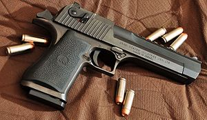 IMI Desert Eagle - Mark XIX Desert Eagle in .50 Action Express with Picatinny rail