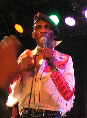 Desmond Dekker in San Francisco, USA. Cropped ...