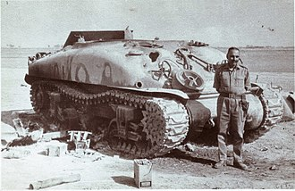 Indo-Pakistani War of 1965 - Destroyed Sherman Tank