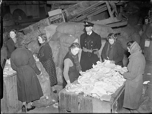 Destruction of Confidential and Secret Papers For the Admiralty during the Second World War A2195