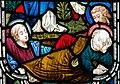 Detail, Stained glass window, All saints' church, Upton cum Kexby (18191305631).jpg