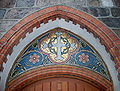 Detail of secondary portal of Church of Saint George in Sopot.jpg