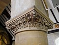 Detail on a Column in the Church of the Annunciation, Chislehurst (02).jpg