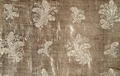 Detaljbild på mönster (släp till bilägersdräkt tillhörande Hedvig Elisabeth Charlotta) - Livrustkammaren - 22536.tif
