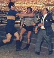 Di Stéfano as coach of Boca.JPG