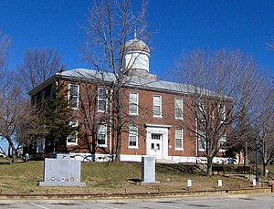 National Register of Historic Places listings in Dickson County, Tennessee - Image: Dickson county courthouse tn 1