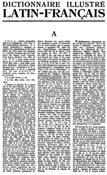 File:Dictionnaire Gaffiot Latin-Français 1934.djvu