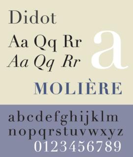 Didot (typeface) typeface