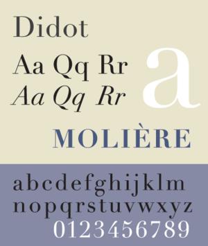 Didot (typeface) - Image: Didot SP