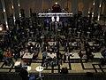 Die Nacht, die Wissen schafft 2012, Lichthof im Welfenschloss, Leibniz Universität Hannover, Vortrag Dr. Ing. habil. Mirko Schaper, Vortrag MAGNESIUM ..., b.jpg