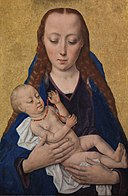 Dieric Bouts - Virgin and Child - DEP2 - Statens Museum for Kunst.jpg