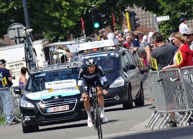 Diksmuide - Ronde van België, etappe 3, individuele tijdrit, 30 mei 2014 (B150).JPG