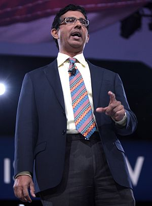 Dinesh D'Souza - D'Souza at CPAC 2016 in Washington, D.C.
