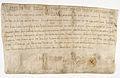 Diplôme de Charlemagne donné le 31 mars 797. - Archives Nationales - AE-II-42.jpg