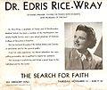 Diplima of Vassar and Nothweastern for Dr. Edris Rice-Wray.jpg