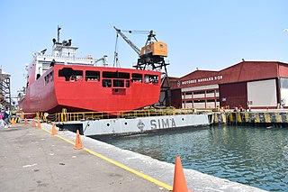 SIMA Peruvian shipbuilding company