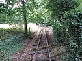 Disused narrow gauge track at Gorebridge Green Farm (geograph 2032278).jpg