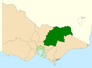 Division of Indi Australian federal electoral division
