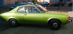 1974-75 Dodge Colt coupé