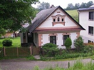 Dolný Kalník Village in Slovakia