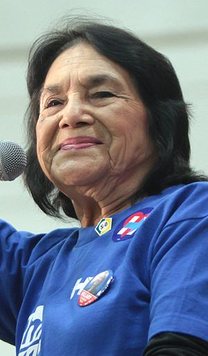 Dolores Huerta - Dolores Huerta in 2016