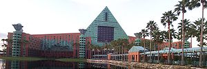 Walt Disney World Dolphin - Dolphin hotel panorama