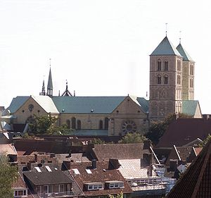 Münster Cathedral - View from the north (from the Buddenturm)