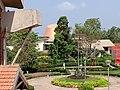 Dome of the Panetarium behind the Pilikula Regional Science Centre in Mangalore - 1.jpg