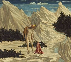 Domenico Veneziano - John the Baptist in the Desert