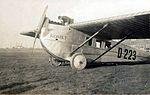 Dornier Komet 2, op Vliegveld Waalhaven, Rotterdam, 1922.jpg