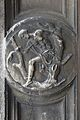 Dorsoduro Chiesa di San Sebastiano medaglione San Sebastiano a Venezia.jpg