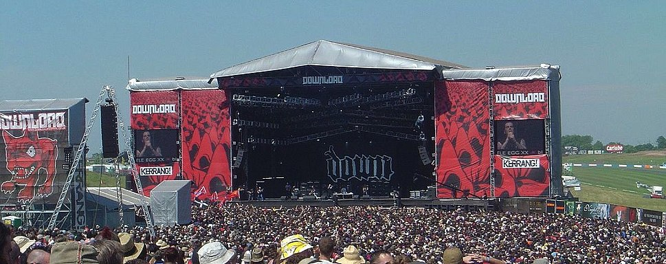 Down at Download Festival 2006
