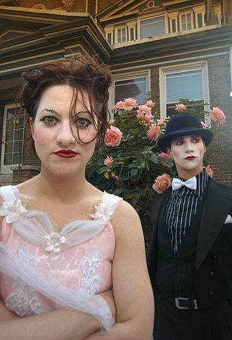The Dresden Dolls - The Dresden Dolls: Amanda Palmer (left) and Brian Viglione (right)