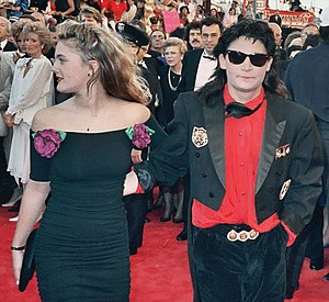 Drew Barrymore - Barrymore with Corey Feldman at the 61st Academy Awards, March 29, 1989