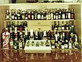 Drink, cocktail cabinet, colorful Fortepan 1355.jpg