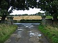 Drive entrance to Plam Strothers Farm - geograph.org.uk - 951944.jpg
