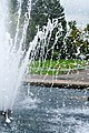 Droplets of water from a fountain - panoramio.jpg