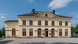1766 in Sweden - Drottningholm Palace Theatre, exterior view, 2013