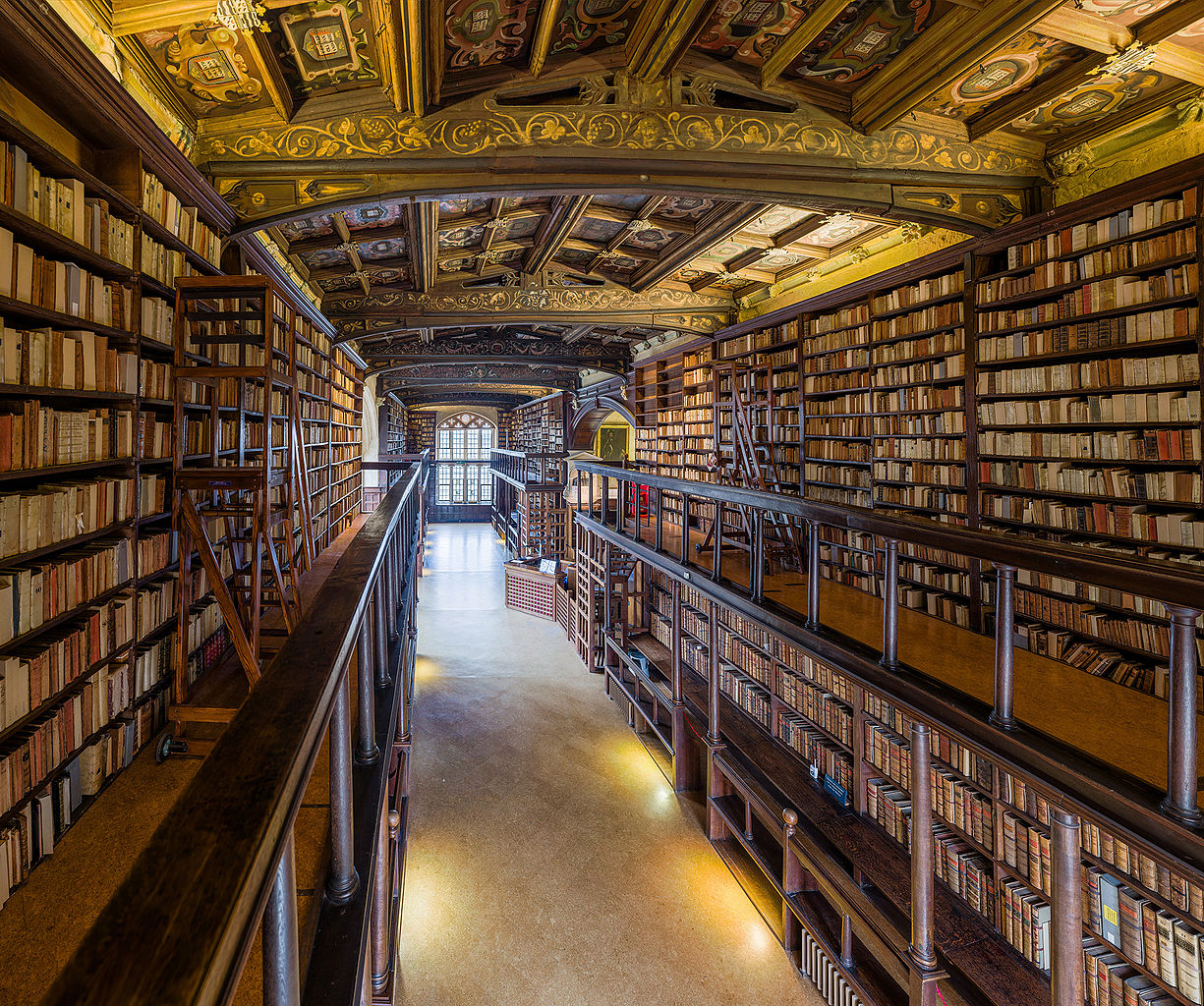 File:Duke Humfrey's Library Interior 5, Bodleian Library ...
